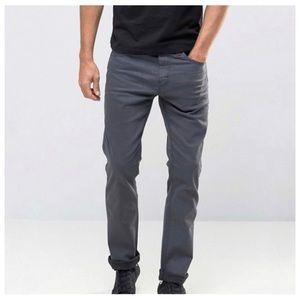 Levi's Line 8 jeans 511 slim fit gray/black wash